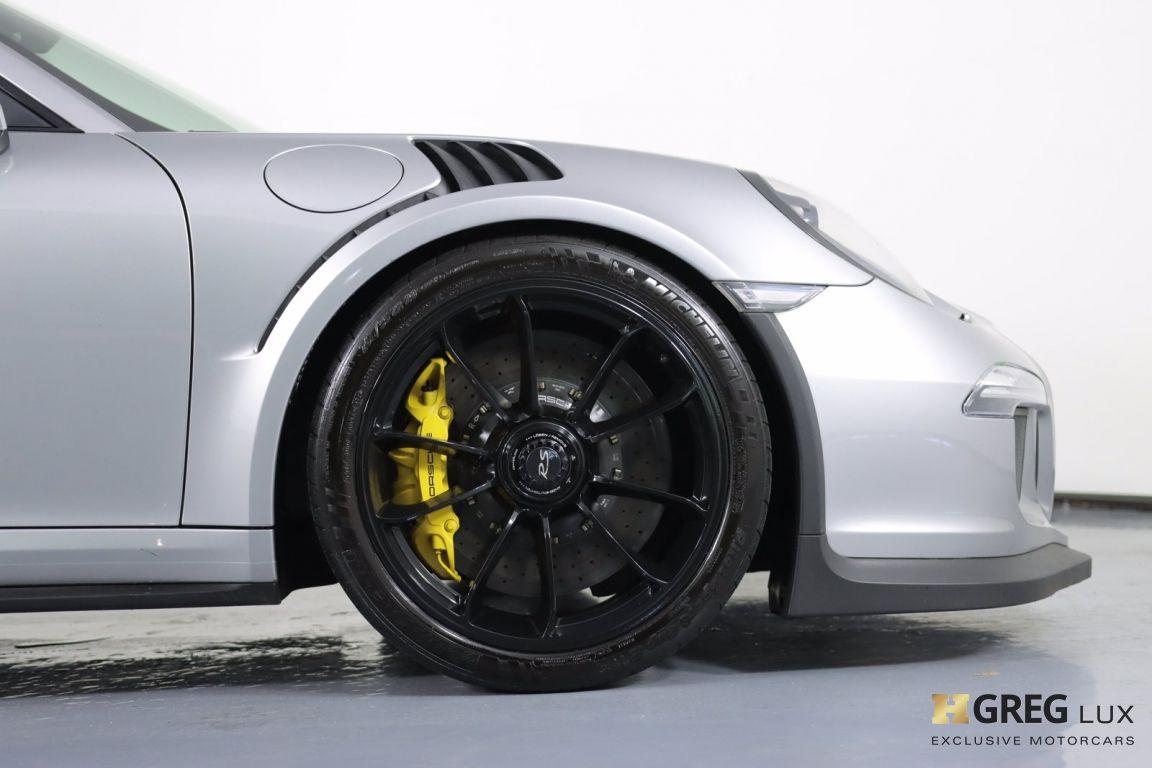 2016 Porsche 911 GT3 RS #11