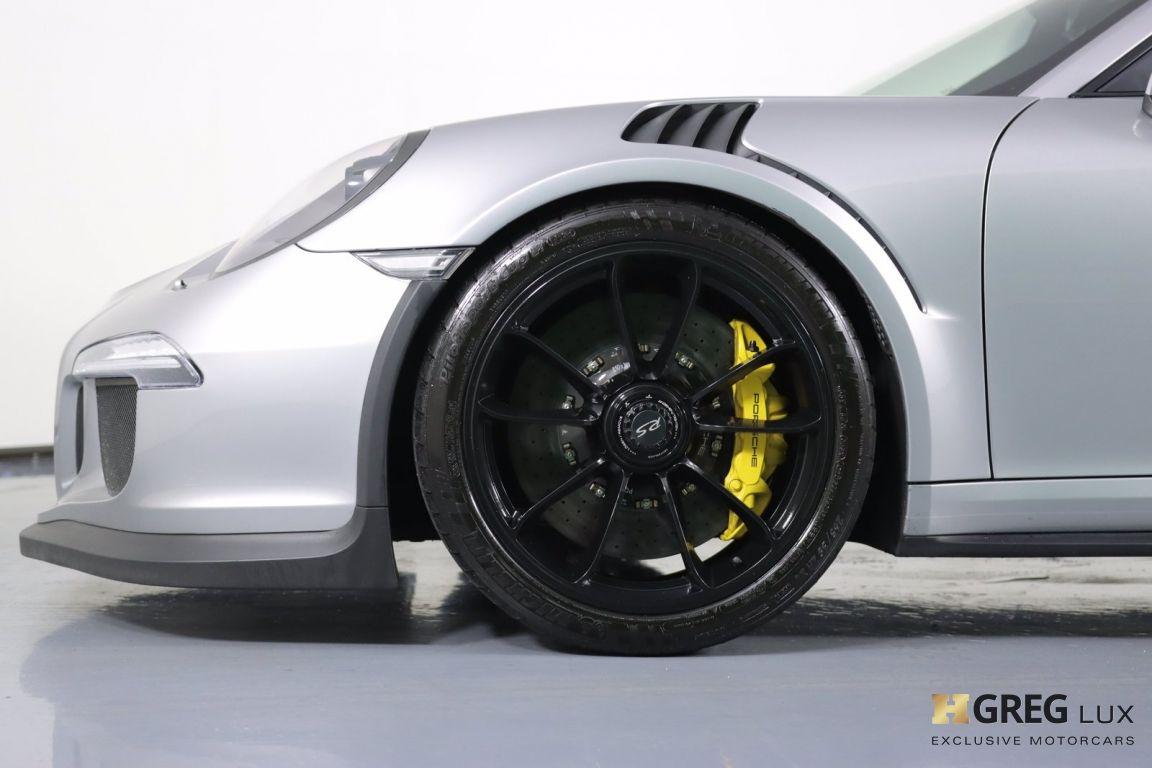 2016 Porsche 911 GT3 RS #23
