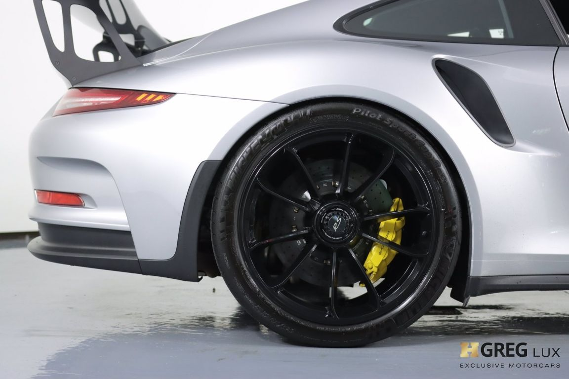 2016 Porsche 911 GT3 RS #13