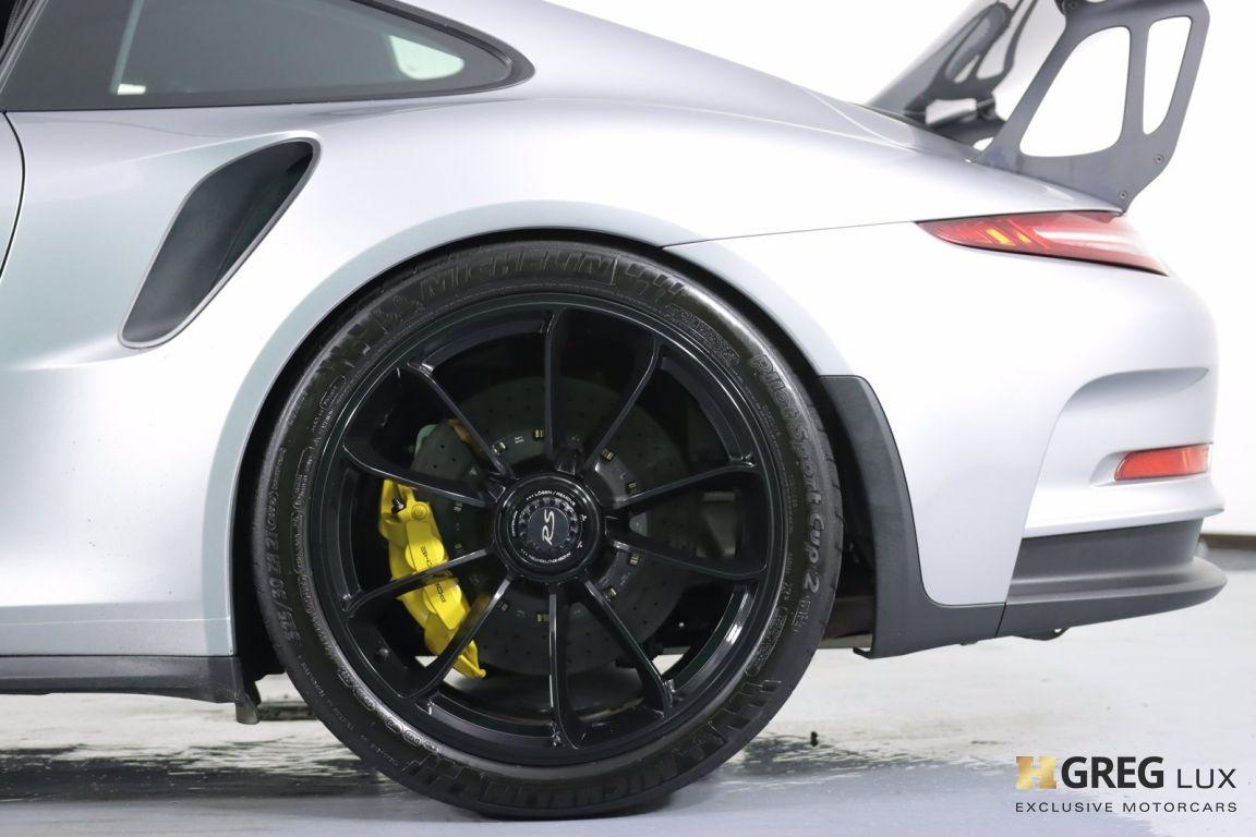 2016 Porsche 911 GT3 RS #25