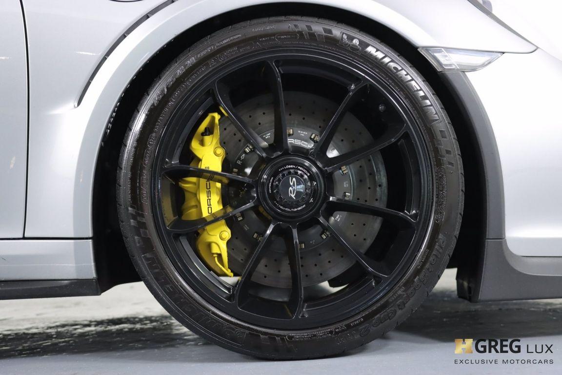 2016 Porsche 911 GT3 RS #12