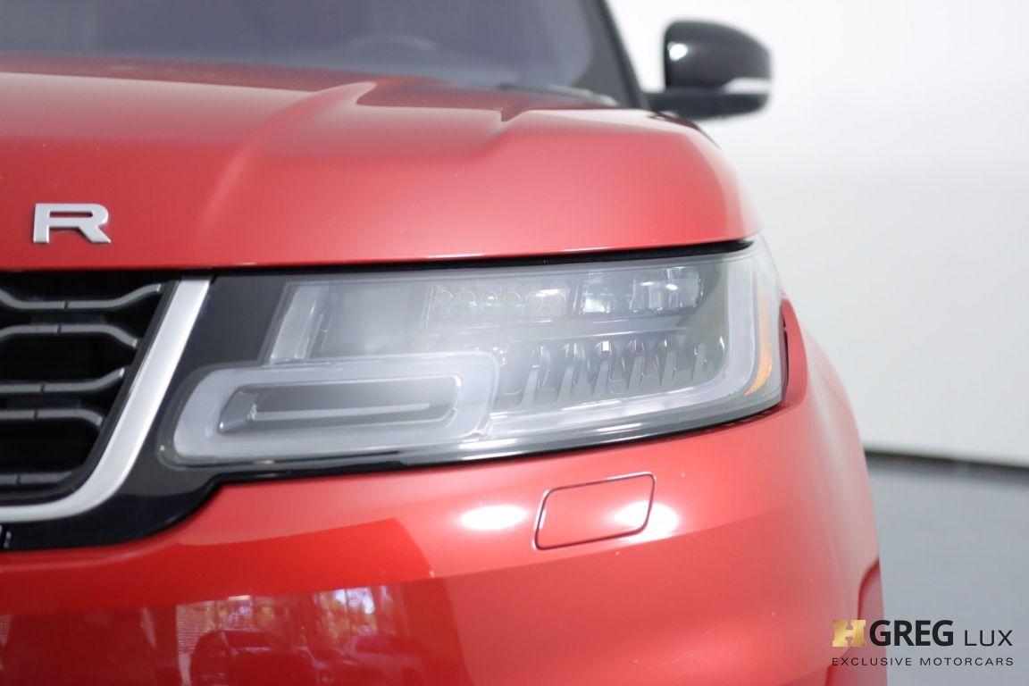 2018 Land Rover Range Rover Sport HSE #5