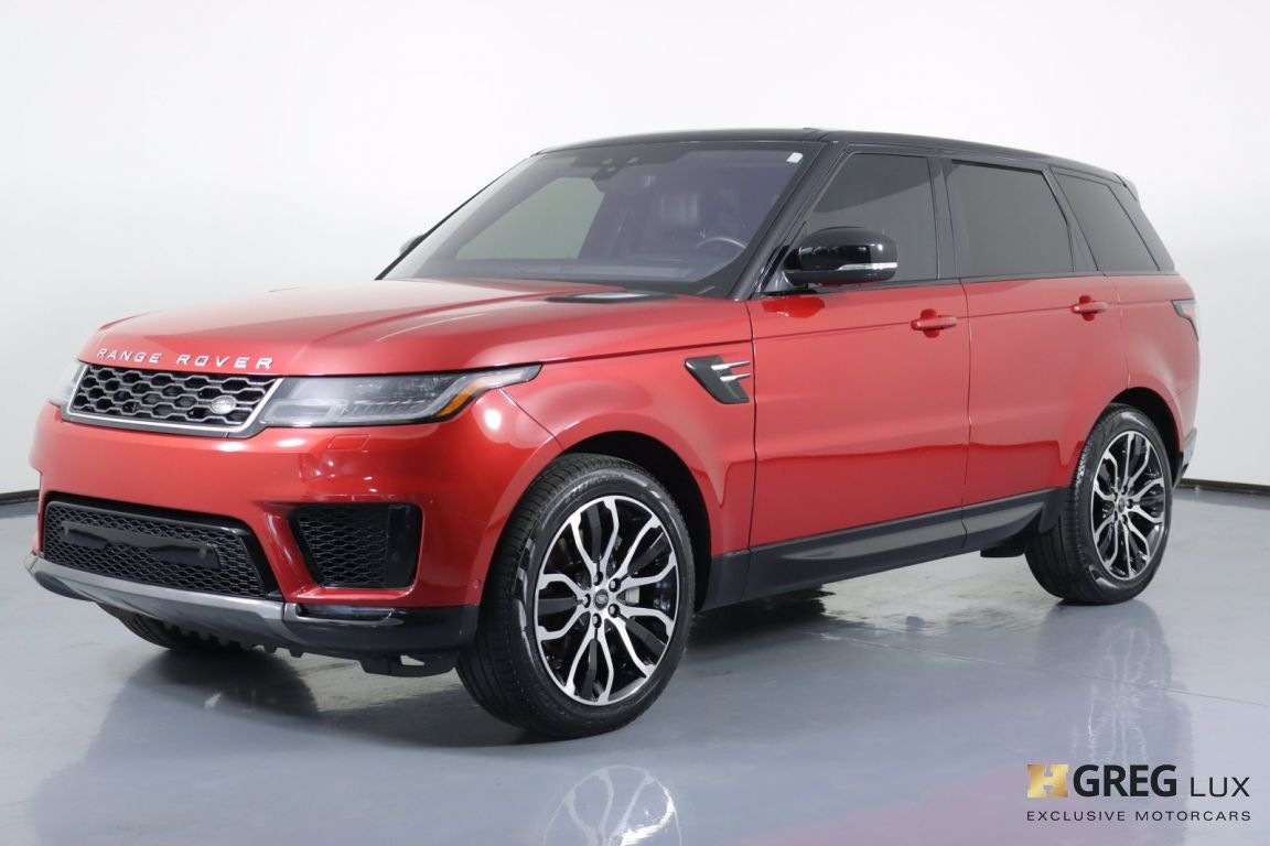 2018 Land Rover Range Rover Sport HSE #26