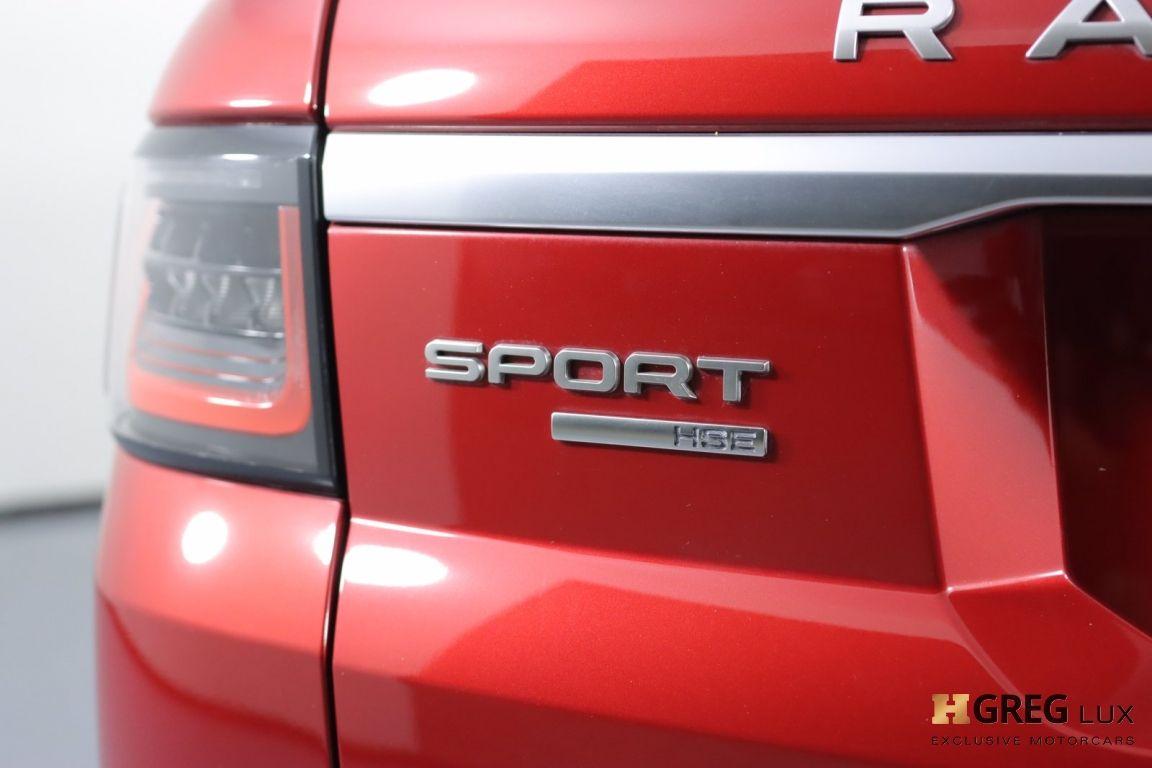 2018 Land Rover Range Rover Sport HSE #19