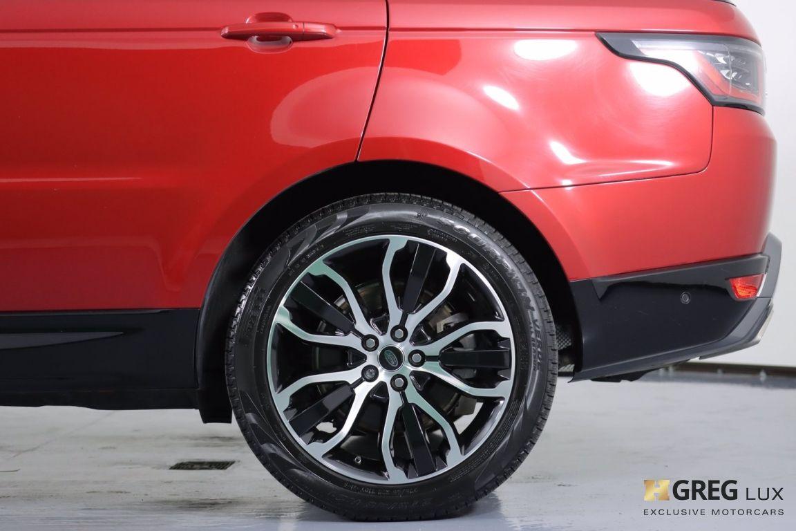 2018 Land Rover Range Rover Sport HSE #24