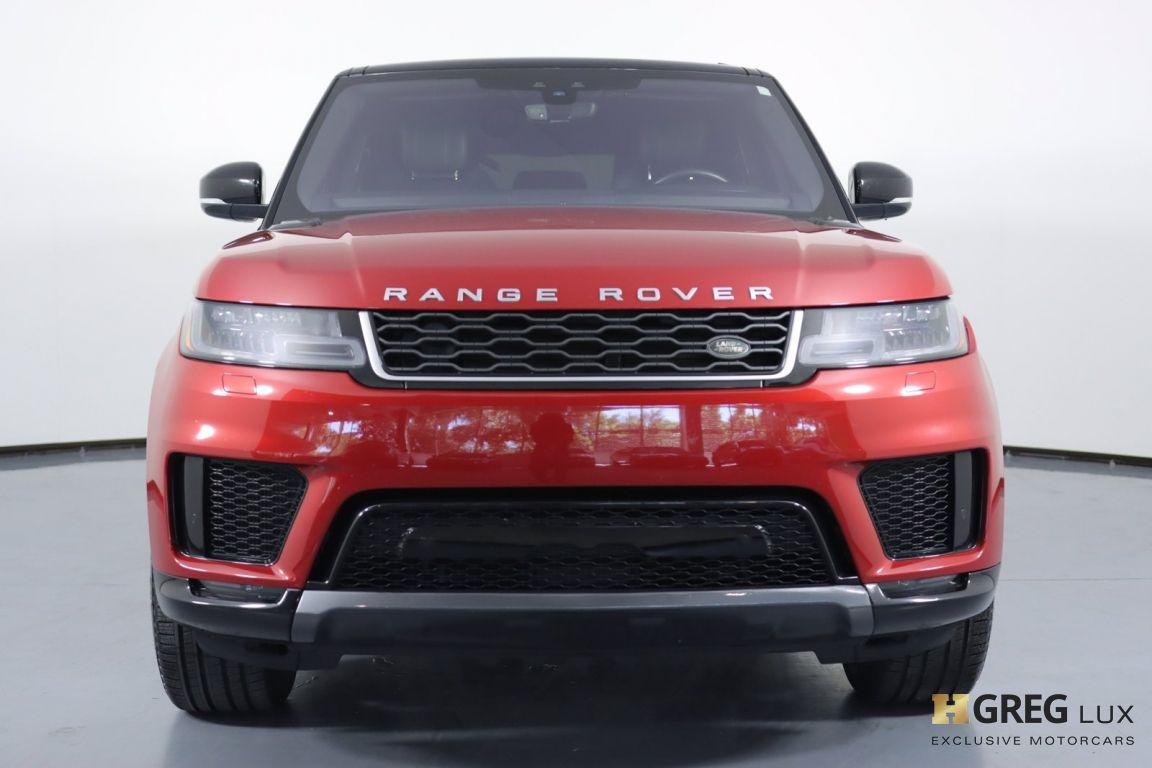 2018 Land Rover Range Rover Sport HSE #3