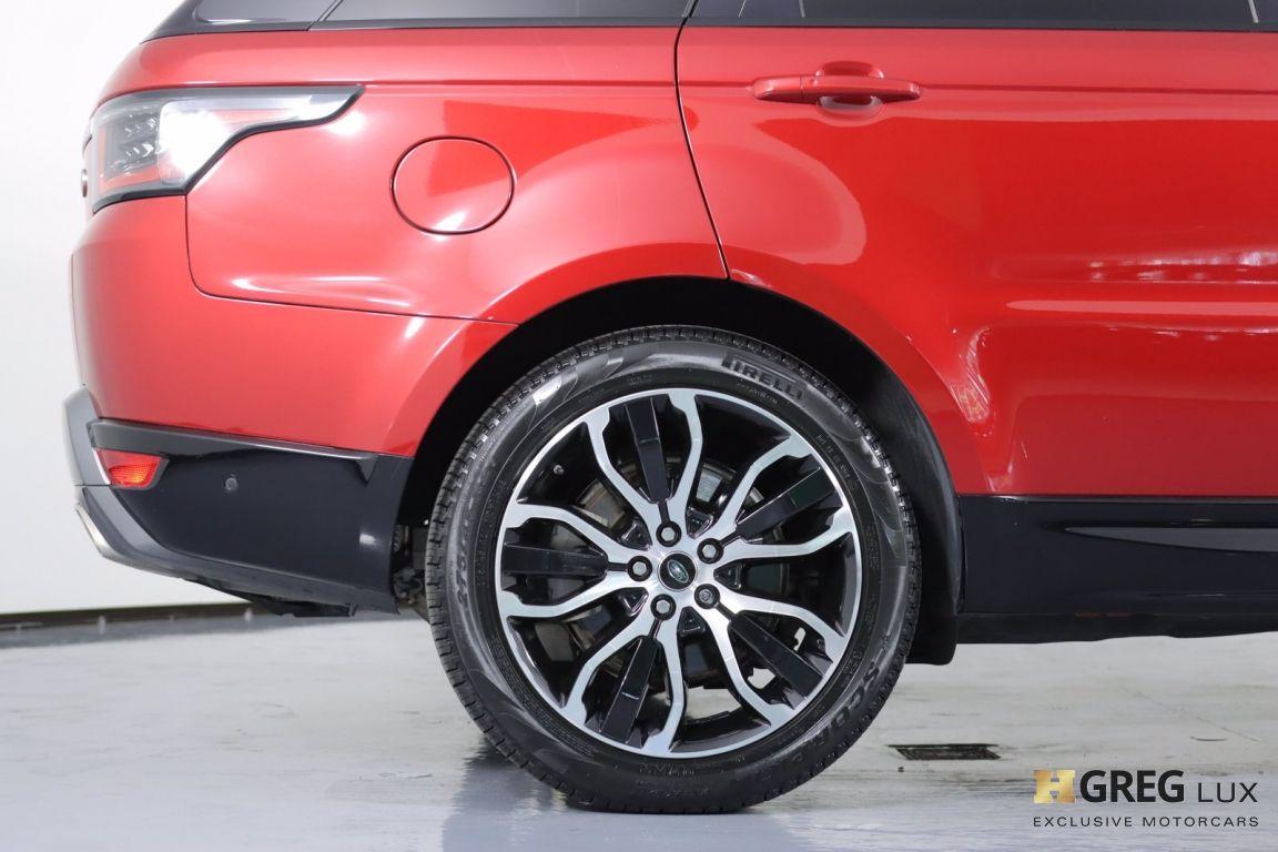 2018 Land Rover Range Rover Sport HSE #13