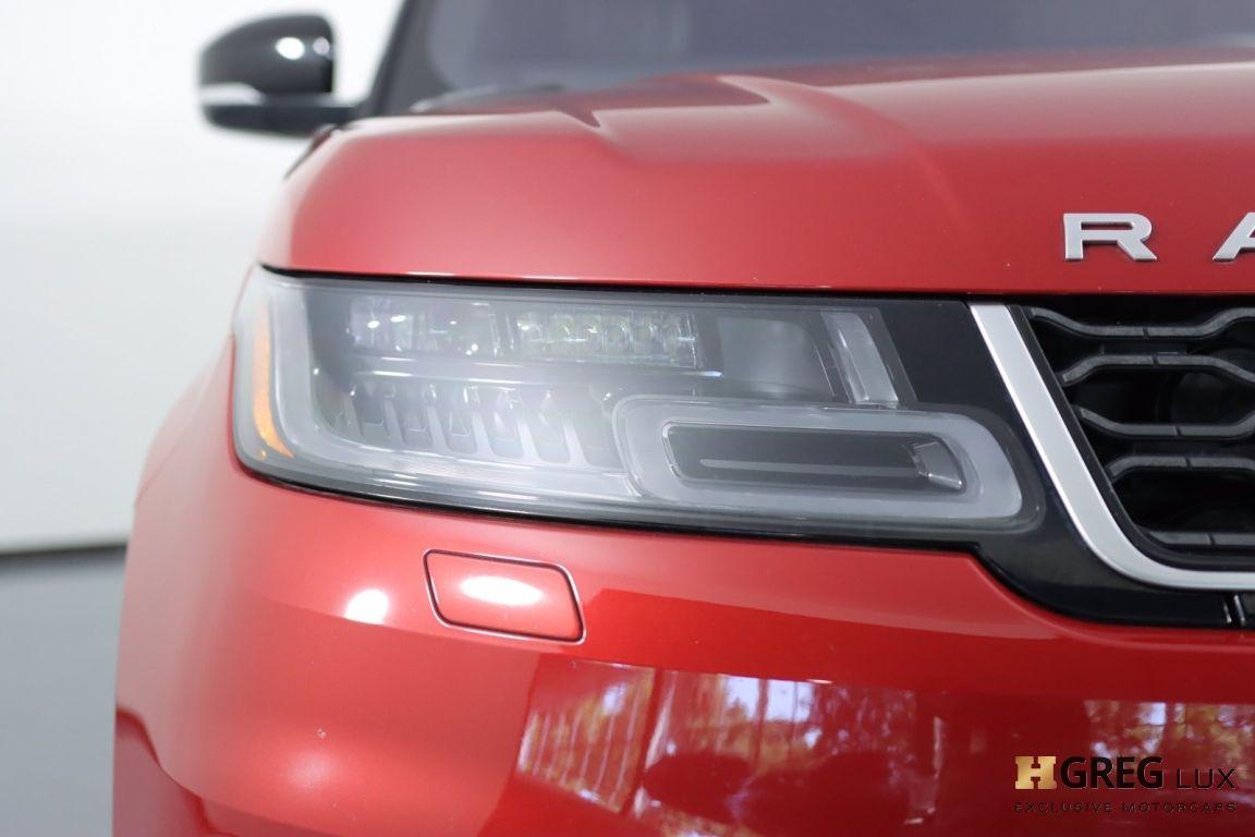 2018 Land Rover Range Rover Sport HSE #4