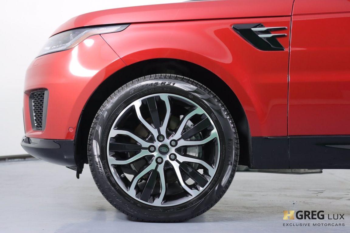 2018 Land Rover Range Rover Sport HSE #22