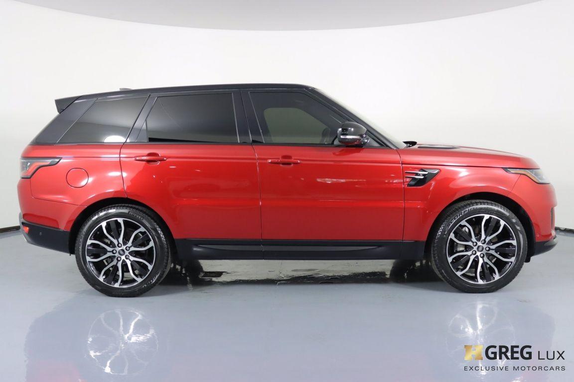 2018 Land Rover Range Rover Sport HSE #10