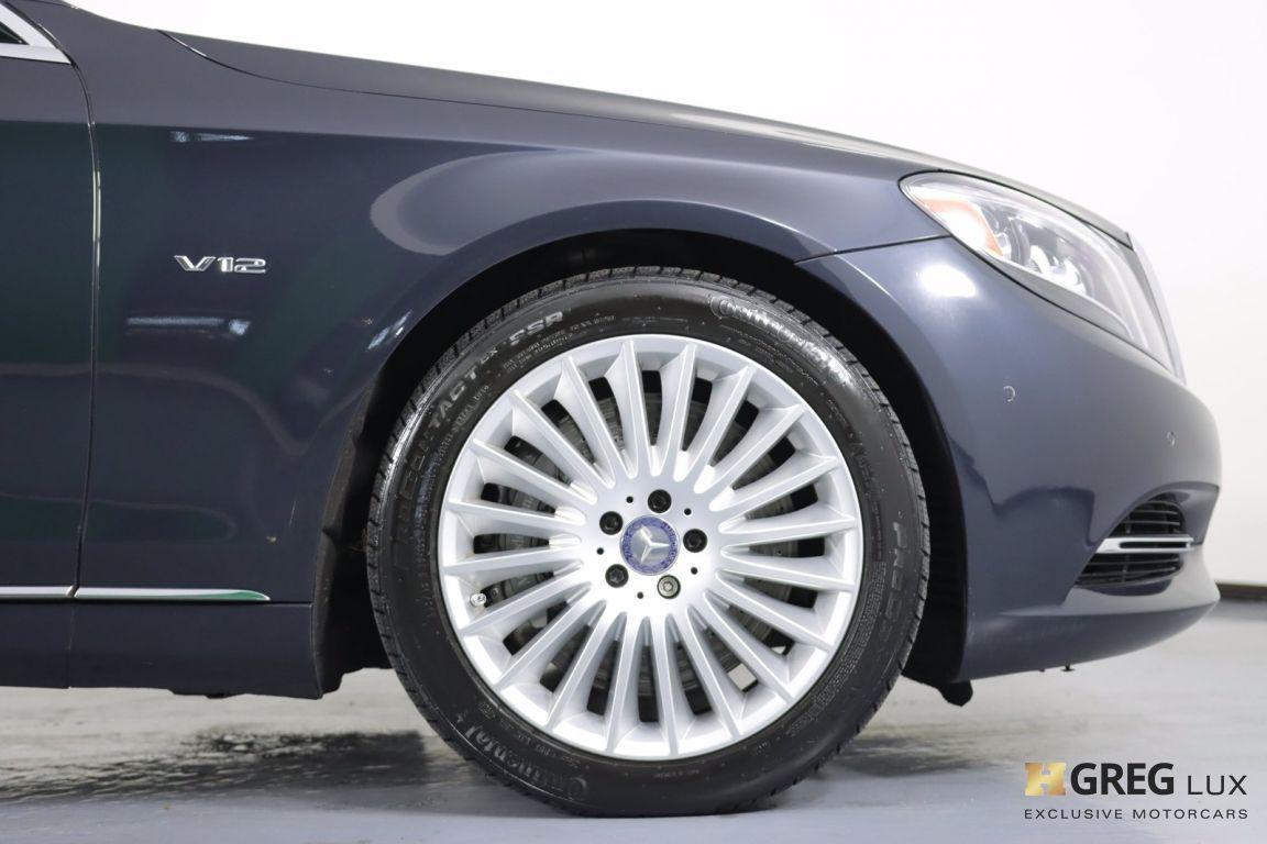 2016 Mercedes Benz S Class Maybach S 600 #11