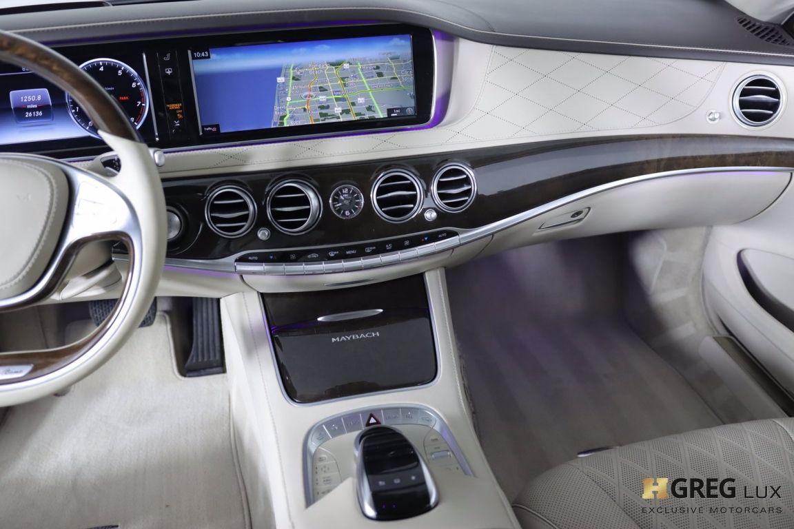 2016 Mercedes Benz S Class Maybach S 600 #41