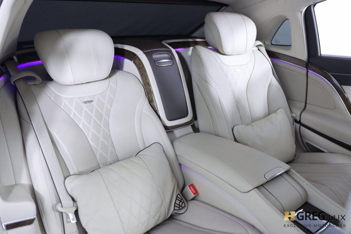 2016 Mercedes Benz S Class Maybach S 600 #33