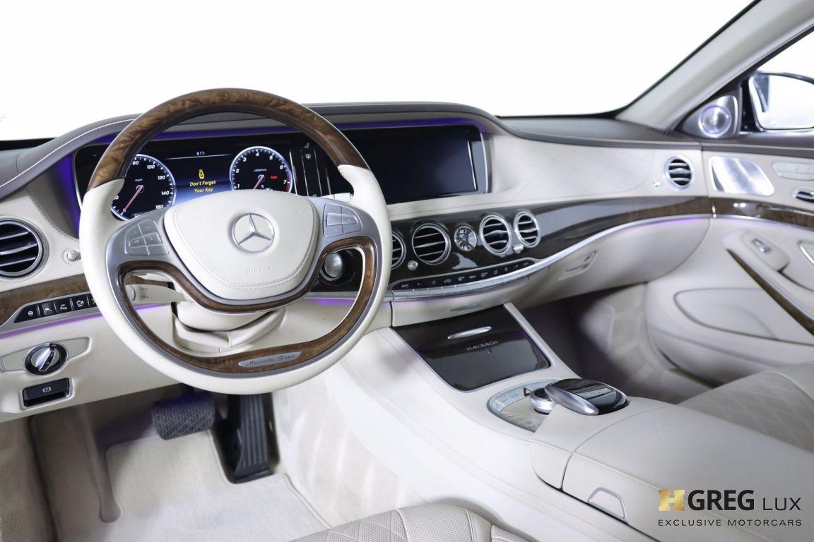 2016 Mercedes Benz S Class Maybach S 600 #1