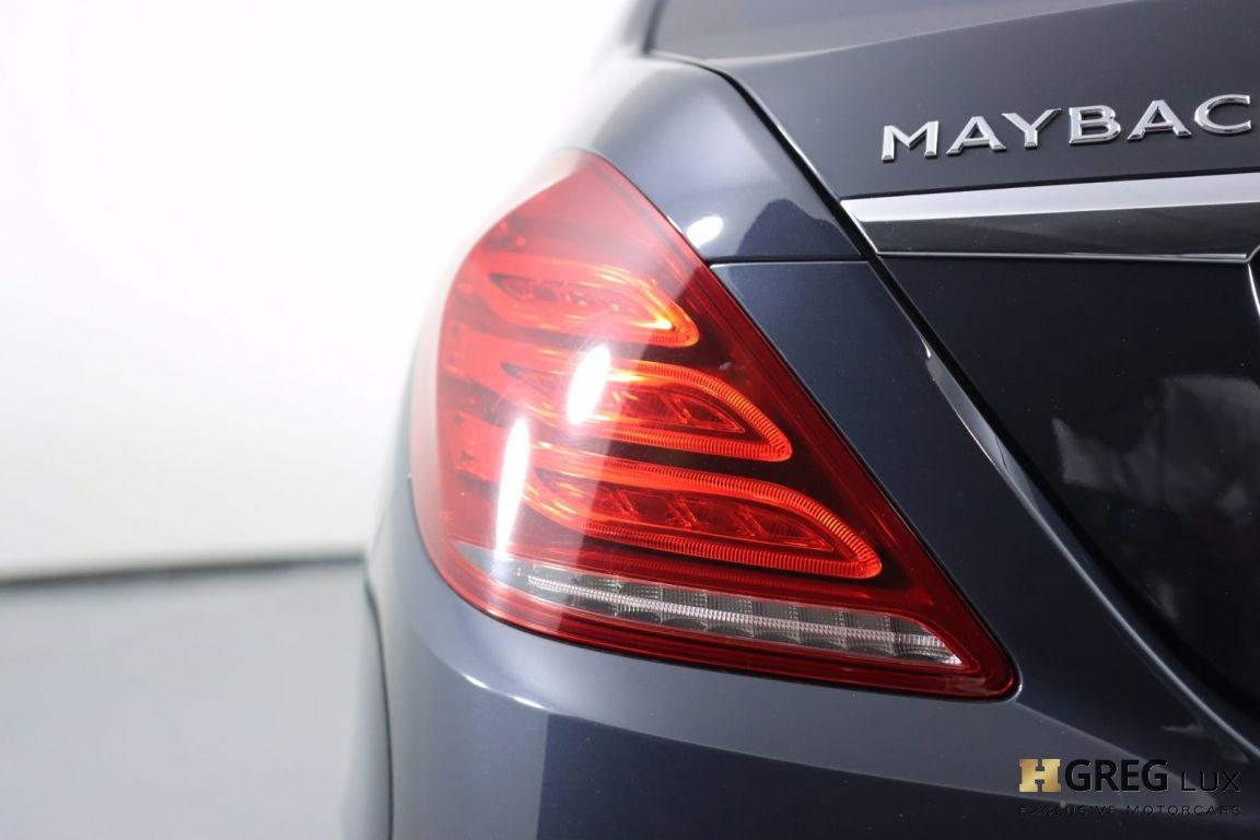 2016 Mercedes Benz S Class Maybach S 600 #17