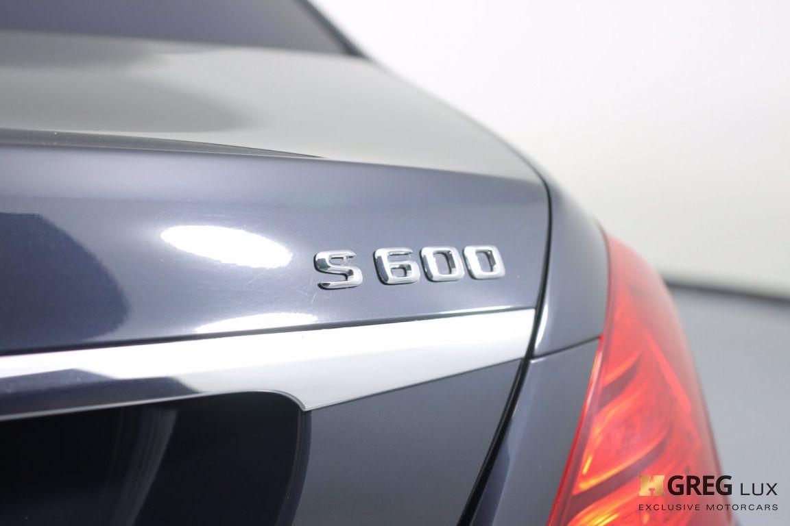 2016 Mercedes Benz S Class Maybach S 600 #19