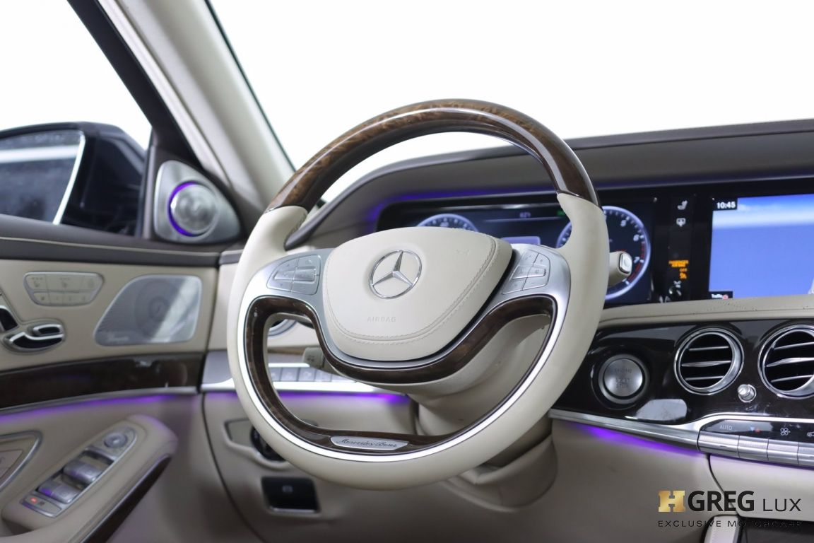 2016 Mercedes Benz S Class Maybach S 600 #55