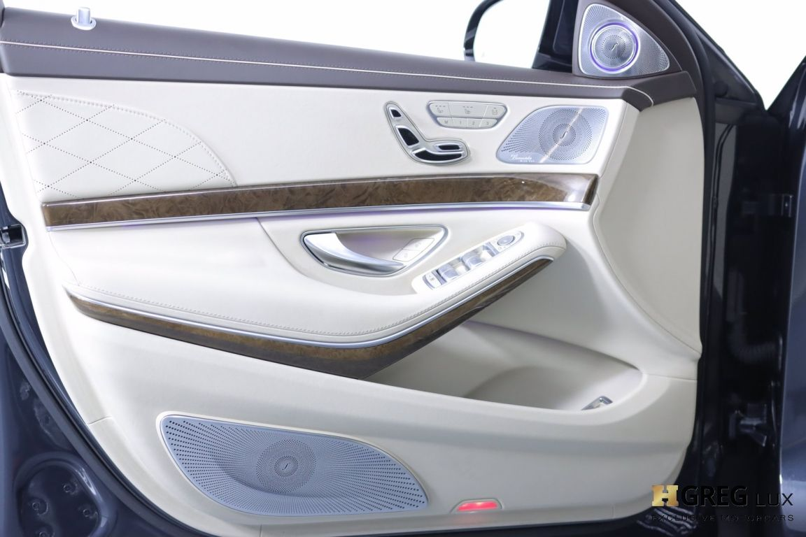 2016 Mercedes Benz S Class Maybach S 600 #35