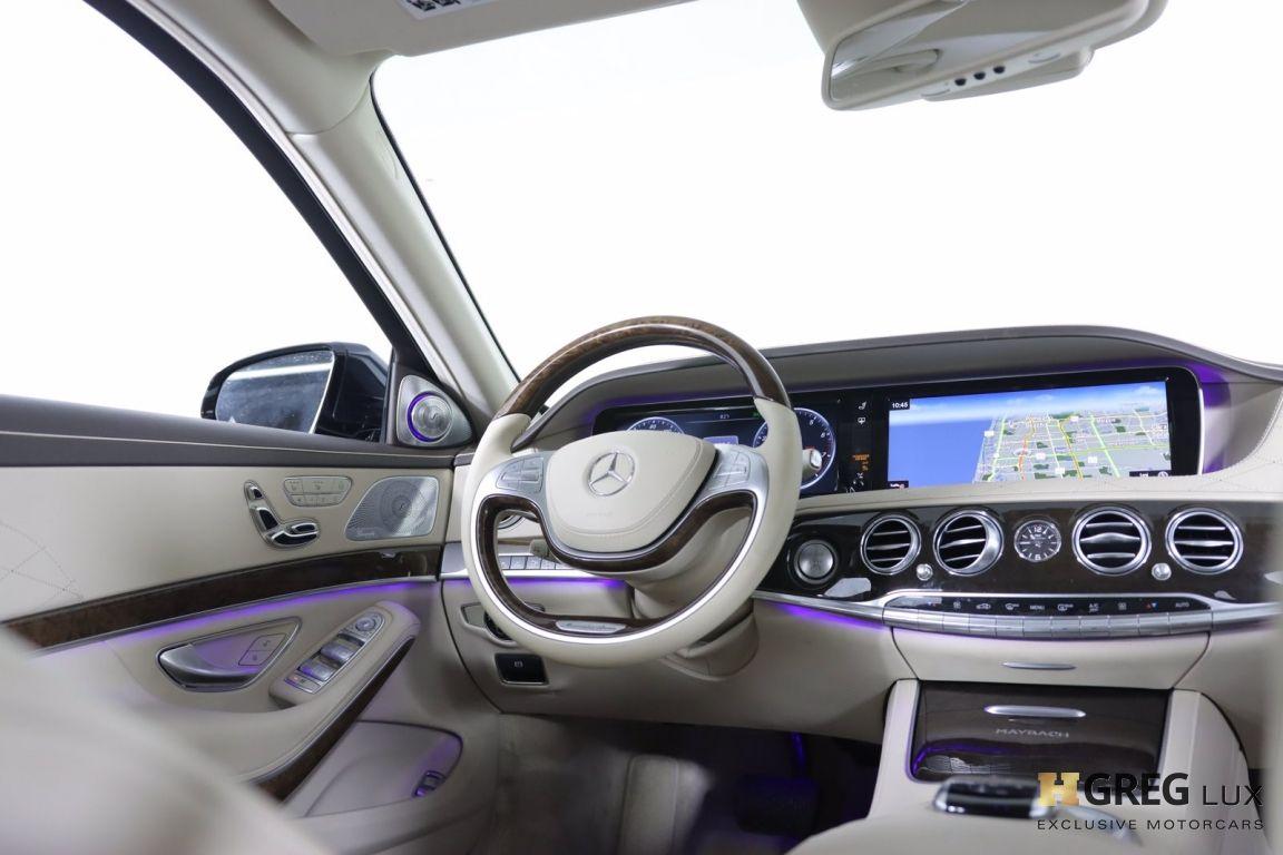 2016 Mercedes Benz S Class Maybach S 600 #54