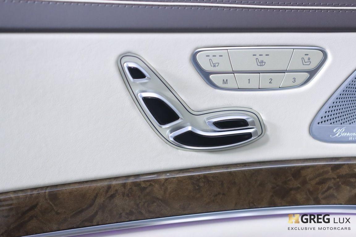 2016 Mercedes Benz S Class Maybach S 600 #37