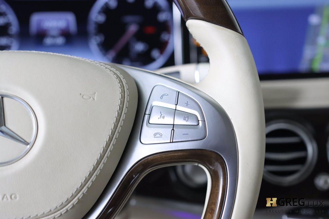 2016 Mercedes Benz S Class Maybach S 600 #52