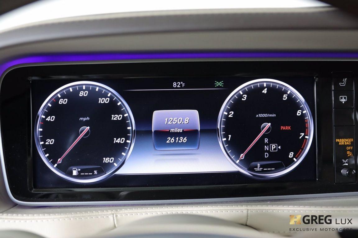 2016 Mercedes Benz S Class Maybach S 600 #49
