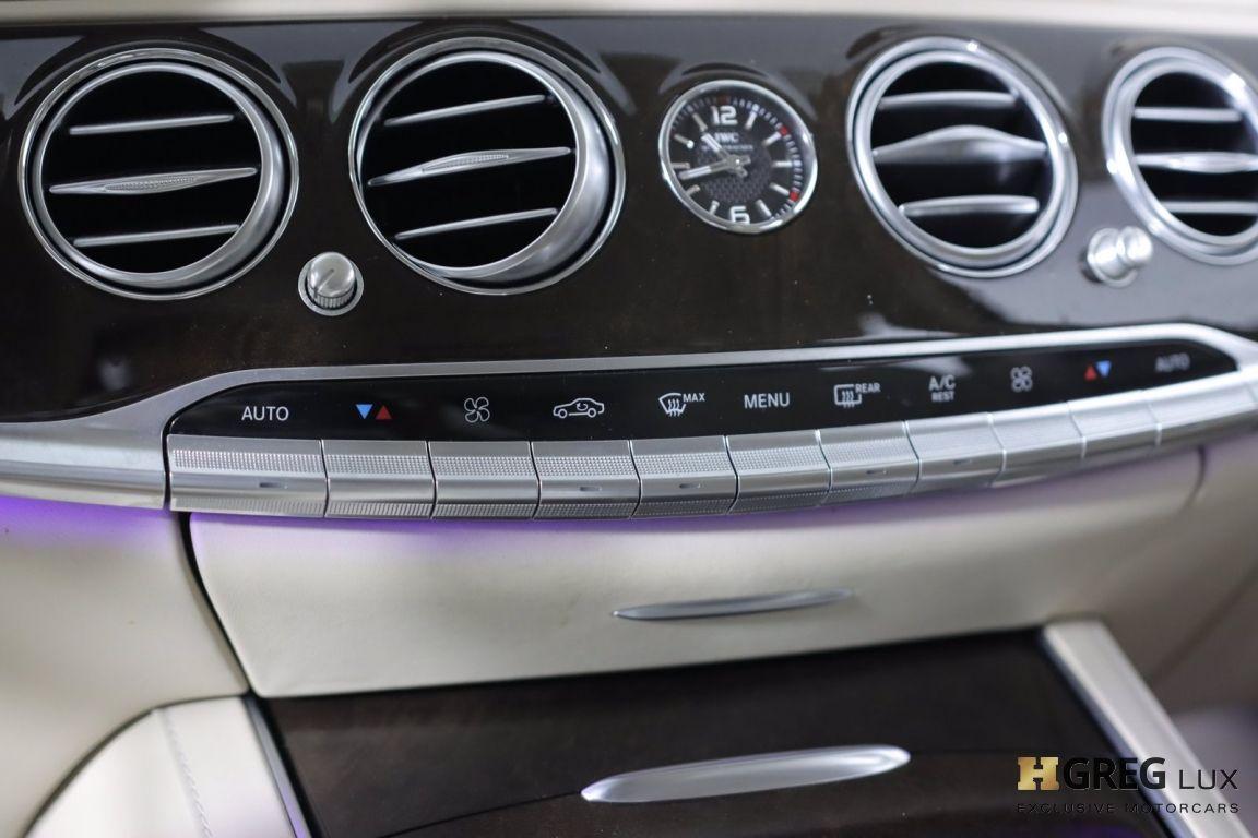 2016 Mercedes Benz S Class Maybach S 600 #44