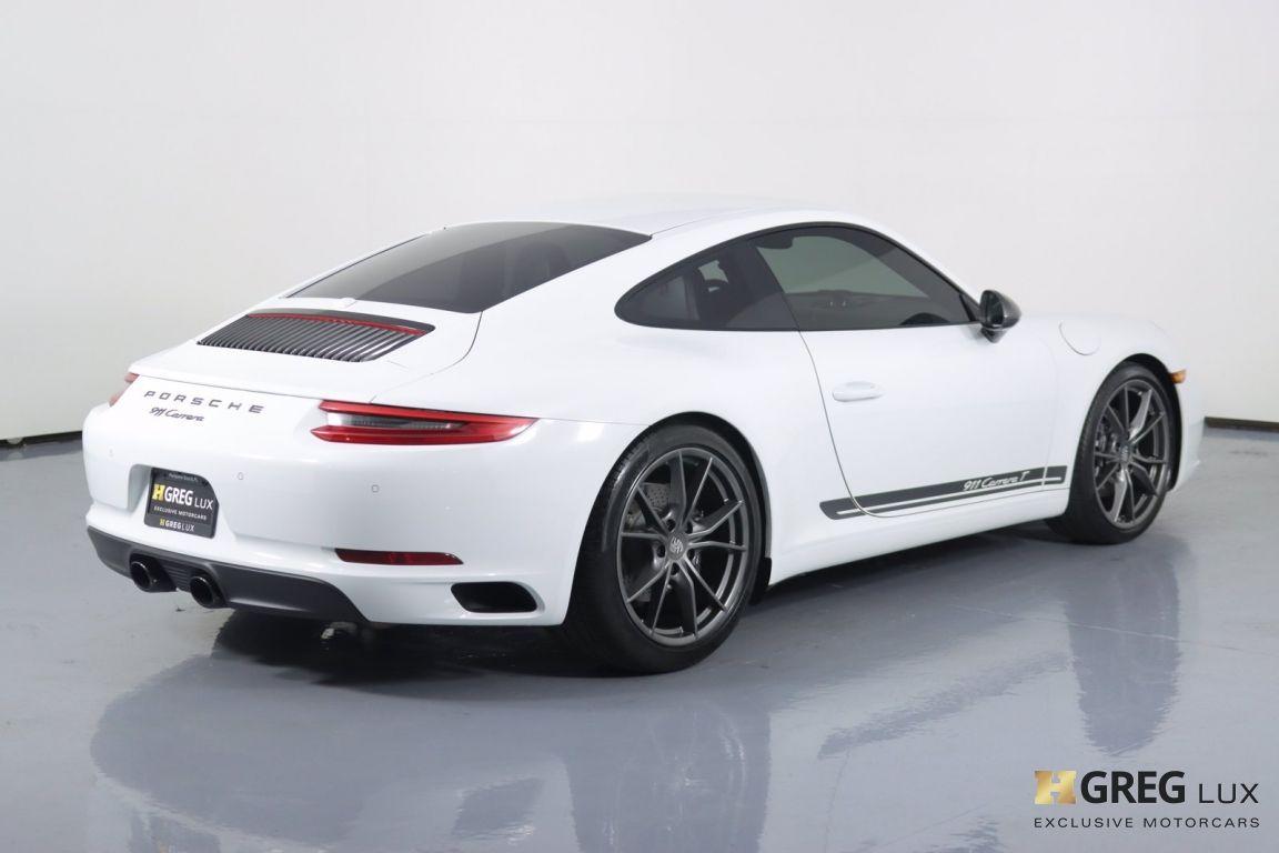 2019 Porsche 911 Carrera T #16