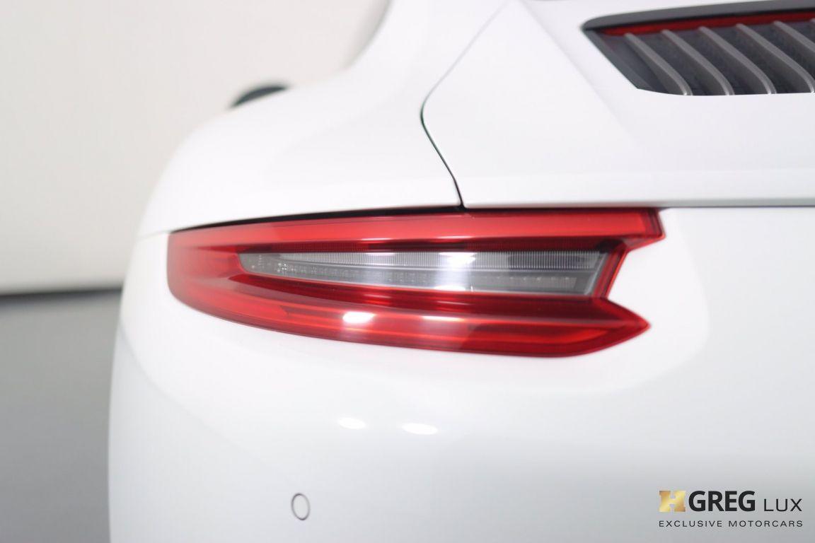 2019 Porsche 911 Carrera T #18