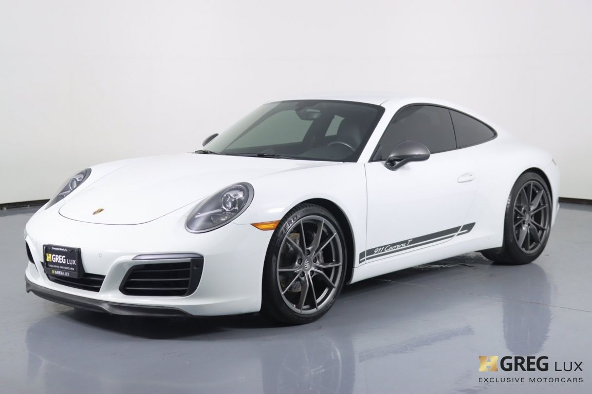 2019 Porsche 911 Carrera T #28