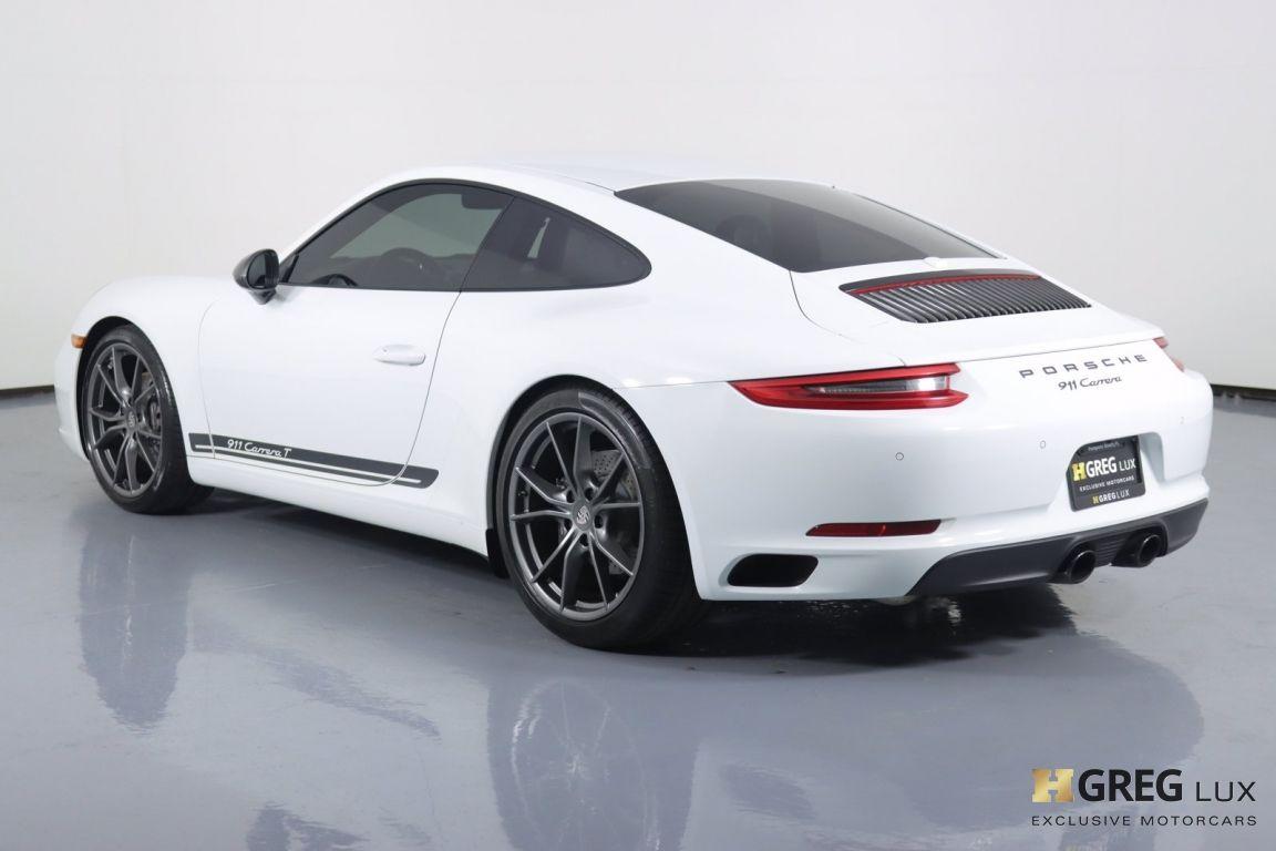 2019 Porsche 911 Carrera T #21