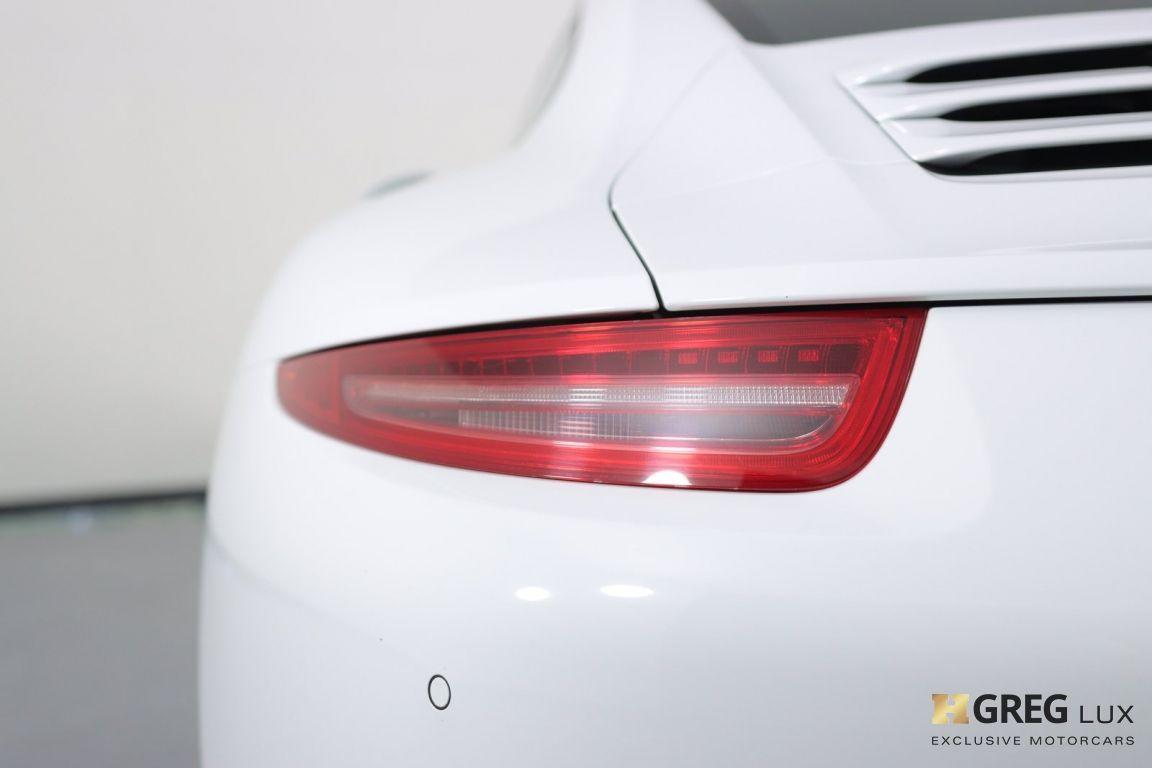 2013 Porsche 911 Carrera S #17