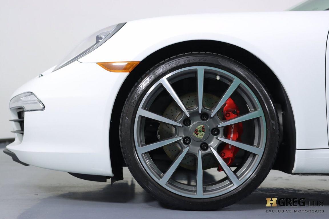 2013 Porsche 911 Carrera S #22