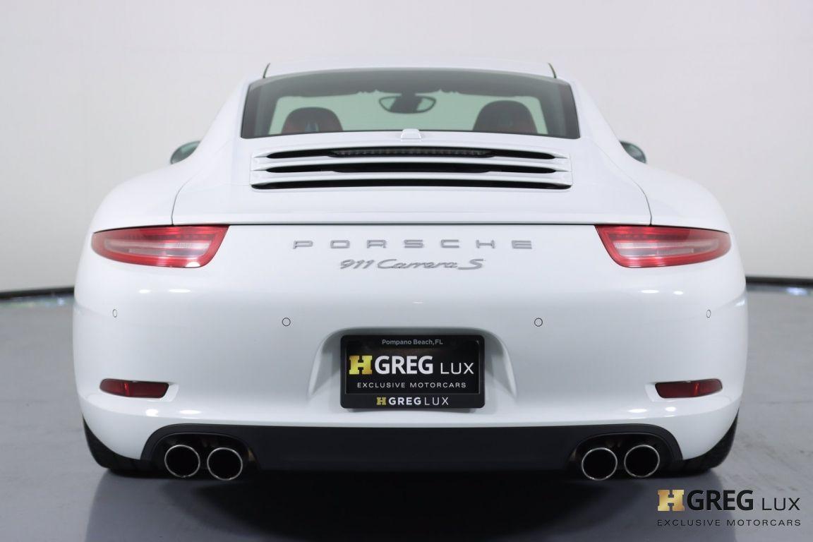 2013 Porsche 911 Carrera S #16