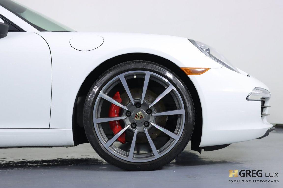 2013 Porsche 911 Carrera S #11