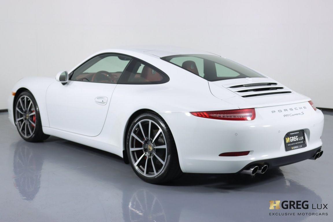 2013 Porsche 911 Carrera S #20