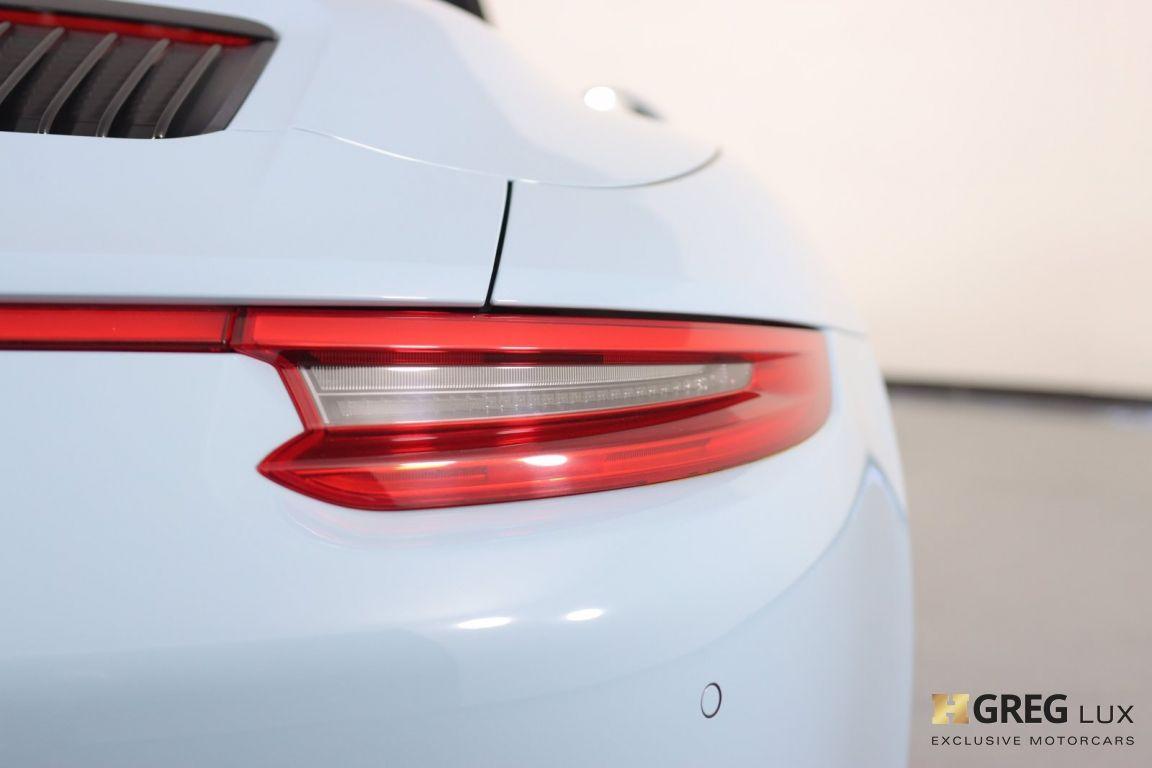 2017 Porsche 911 Carrera 4S #20