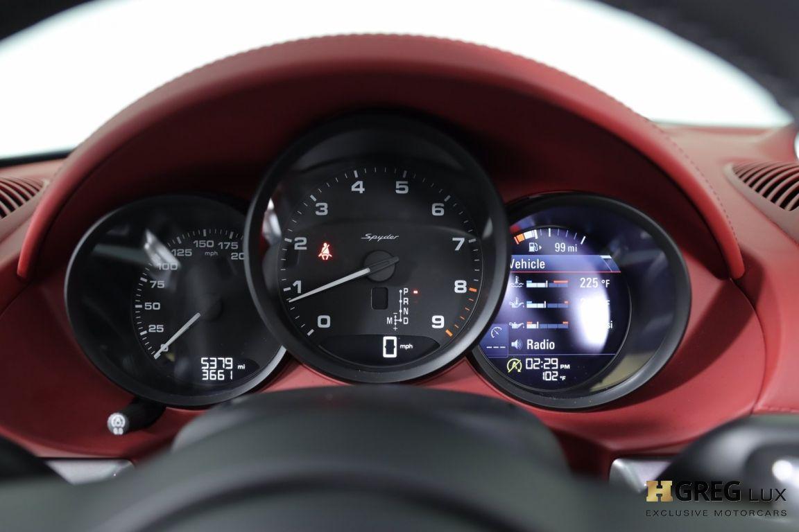 2021 Porsche 718 Spyder  #39