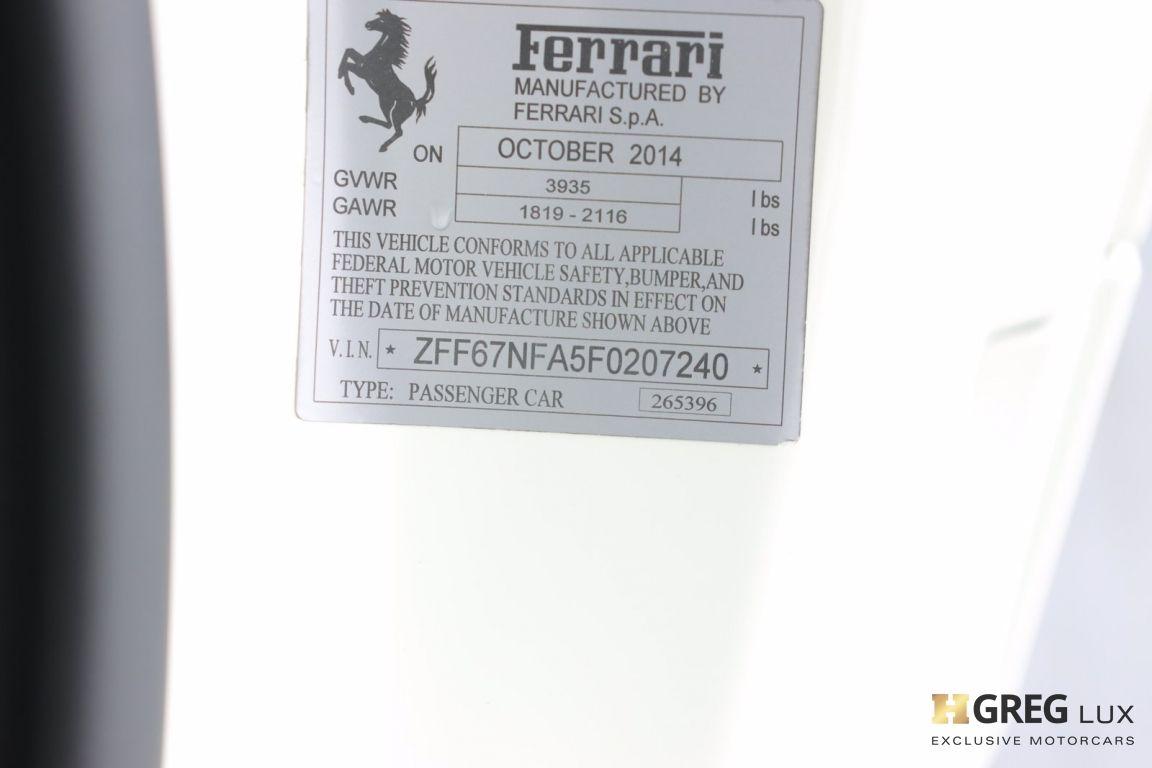 2015 Ferrari 458 Italia  #44