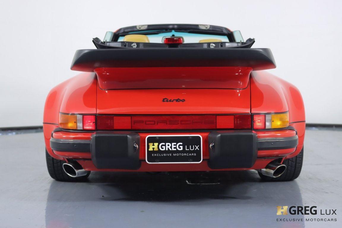 1988 Porsche 911 Turbo #16