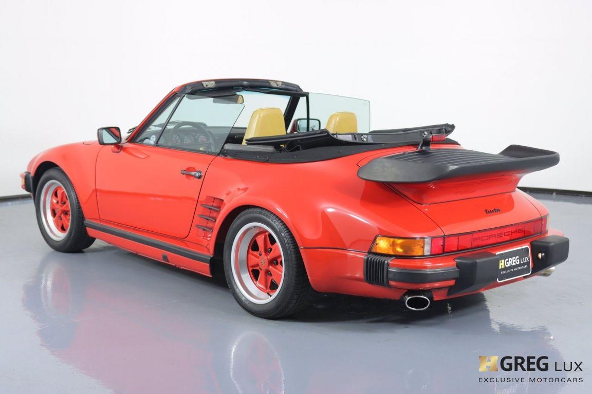 1988 Porsche 911 Turbo #20