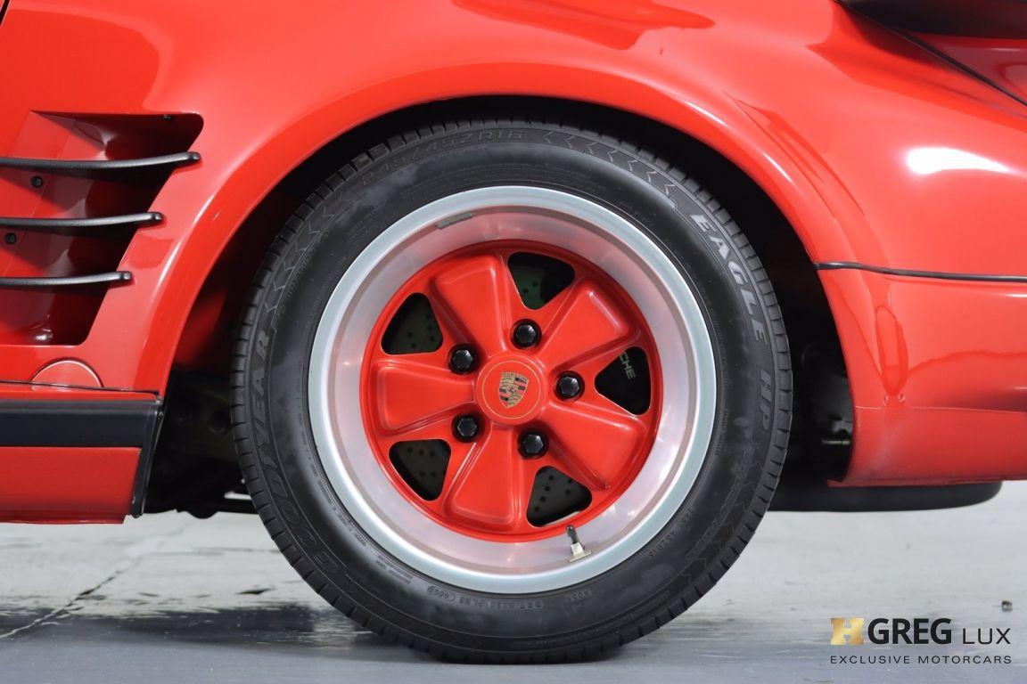 1988 Porsche 911 Turbo #24