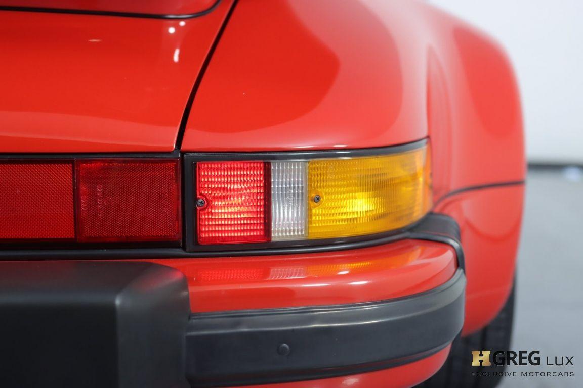 1988 Porsche 911 Turbo #18