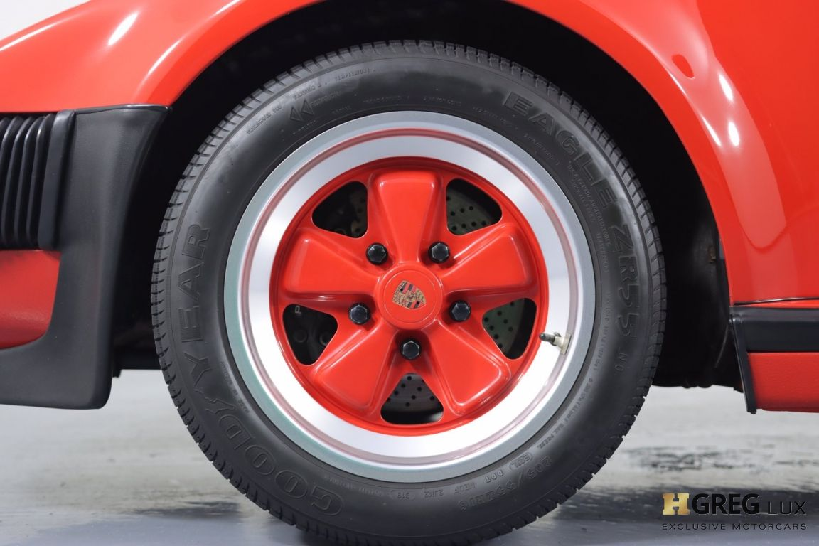 1988 Porsche 911 Turbo #22