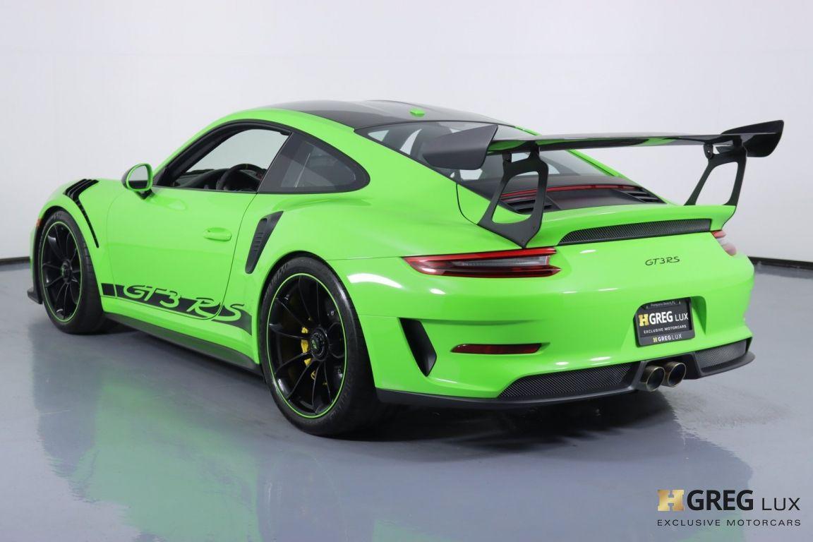 2019 Porsche 911 GT3 RS #20