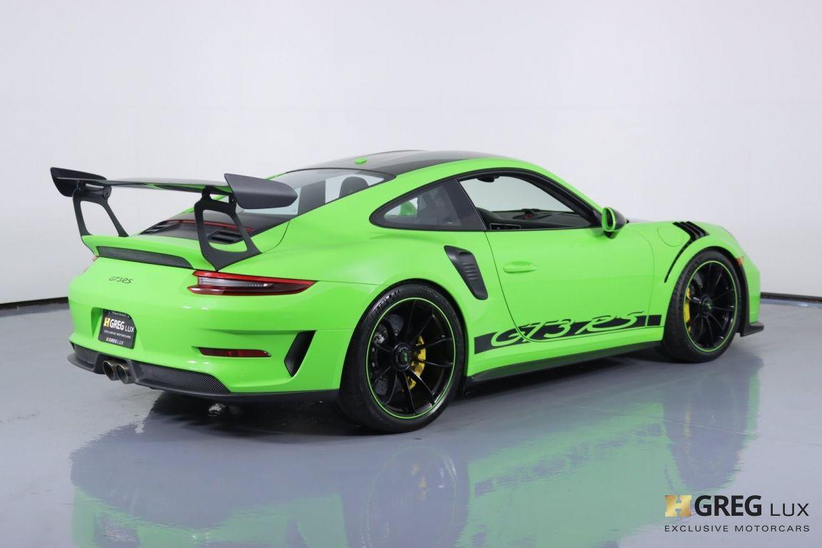 2019 Porsche 911 GT3 RS #15