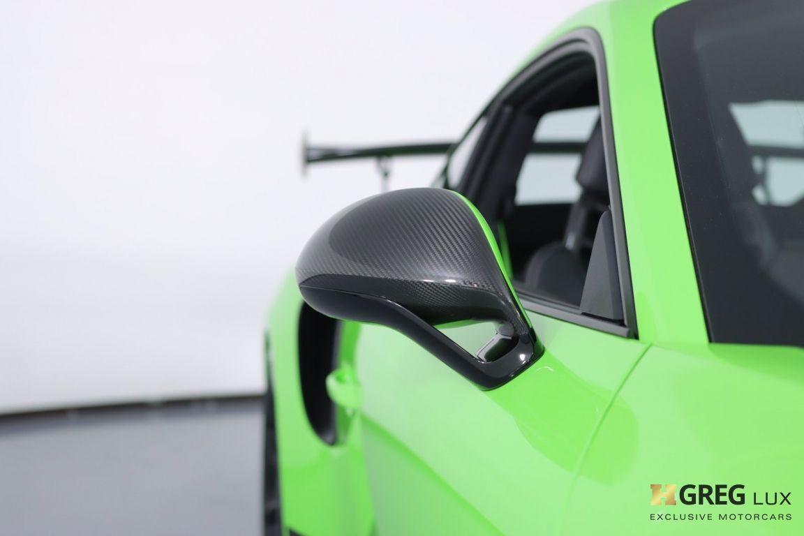 2019 Porsche 911 GT3 RS #7
