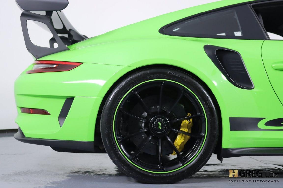 2019 Porsche 911 GT3 RS #13