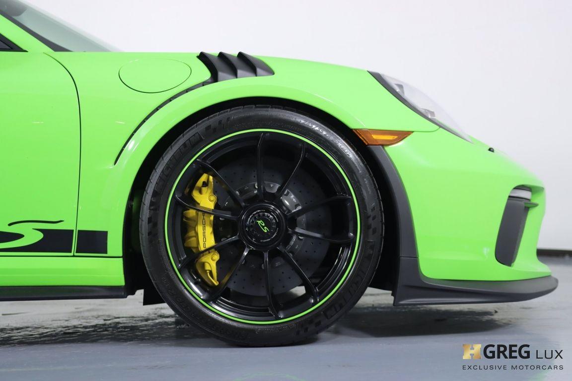 2019 Porsche 911 GT3 RS #11