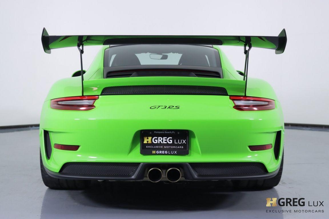 2019 Porsche 911 GT3 RS #16